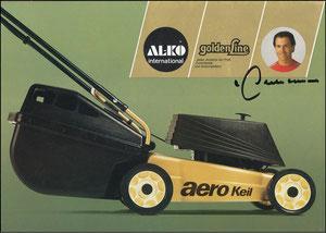 Beckenbauer, 1983, Al-Ko Rasenmäher, A4, Motiv 2