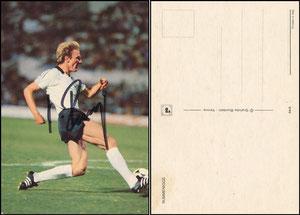 Rummenigge, 1980, DFB, italienische Postkarte