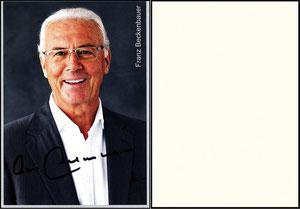 Beckenbauer, 2015, Privatkarte 1