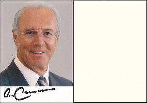 Beckenbauer, 2005, Privatkarte