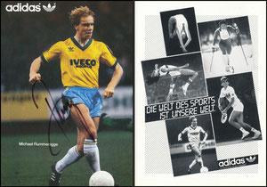Rummenigge, Michael, 1983, Adidas