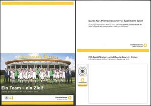 DFB, 2015, Länderspiel 'Deutschland - Polen', Dank an SF Robert