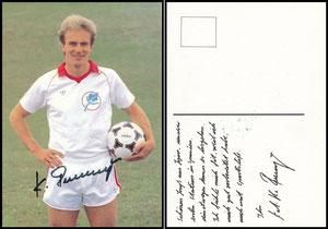 Rummenigge, 1982, SportsLife, Motiv 2, Rückseite mit Zudruck
