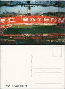 Postkarte, 1990er Jahre, 'Club Nr. 12', Motiv 1