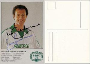 Beckenbauer, 1978, Faberge Brut 33, MIT Druck-AG, Dank an SF Norbert