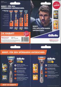Müller, Thomas, 2018, Gillette, Rossmann, Klappkarte