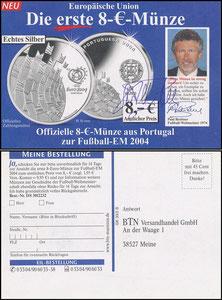 Breitner, 2004, BTN-Münz-Versandhandel