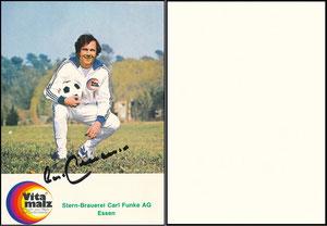 Beckenbauer, 1974, Vitamalz Sternbrauerei Carl Funke