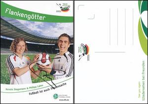 DFB, 2011, Frauen-WM, Lahm & Stegemann