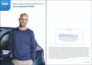 Scholl, 2018, Dacia 'Serviceheft', Booklet A5