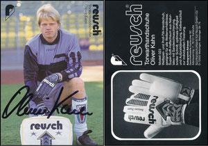 Kahn, 1994, Reusch, rücks. Adresse 'Karlsruhe'