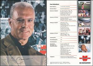 Beckenbauer, 1998, Würth, A5