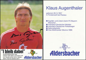 Augenthaler, 1986, Aldersbacher, Karte 2