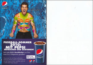 Ballack, 2010, Pepsi
