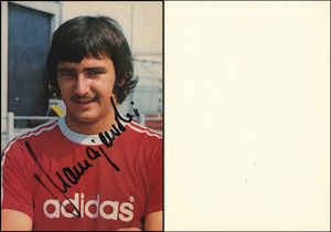 Mamajewski, ca. 1975, Spielerkarte