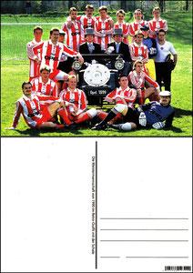 Fan Shop, Postkarte, '1990, Meisterschaft', Dank an SF Sven