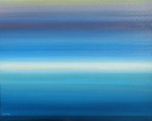 AFTER ALL 1, (Acrylfarbe auf Lw. 80 x 100 cm)