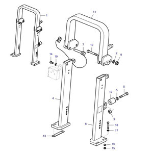 Roll bar y sus componentes