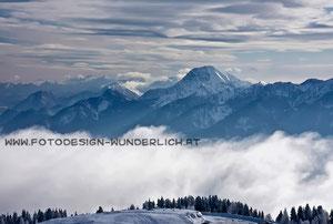 Kärnten, Dobratsch, Blick zum Mittagskogel (Fotodesign-Wunderlich)