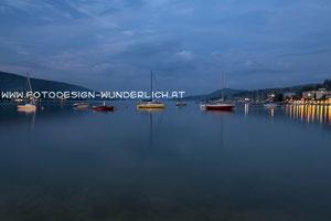 Kärnten, Wörthersee, Abends in Velden (Fotodesign-Wunderlich)