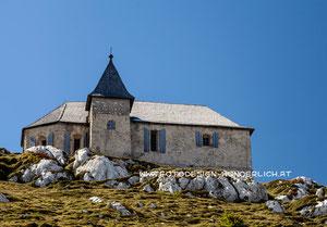Kärnten, Deutsche Kirche am Dobratsch (Fotodesign-Wunderlich)
