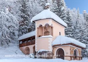 Kärnten, Arnoldstein, Kreuzkapelle (Fotodesign-Wunderlich)
