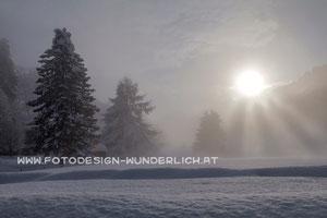 Kärnten, Winter, Nebel (Fotodesign-Wunderlich)