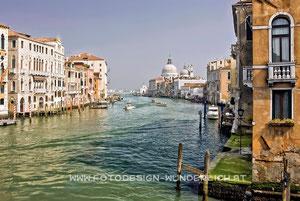 Canale Grande, Santa Maria della Salute (Fotodesign-Wunderlich)