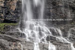 Kärnten, Wasserfall im Maltatal, Fallbachfall (Fotodesign-Wunderlich)