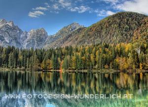 Laghi di Fusine, Fusine - Seen, Weißenfelser Seen (Fotodesign-Wunderlich)