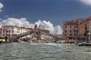 Canale Grande, Ponte di Scalzi (Fotodesign-Wunderlich)