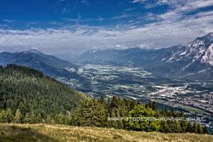 Kärnten, Dreiländereck bei Arnoldstein, Blick zum Dobratsch (Fotodesign-Wunderlich)
