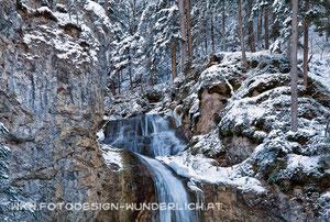 Kärnten, Weißenbach, Wasserfall (Fotodesign-Wunderlich)