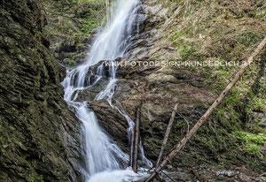 Kärnten, Wasserfall (Fotodesign-Wunderlich)