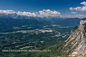 Kärnten, Dobratsch, Blick zum Dreiländereck, Arnoldstein (Fotodesign-Wunderlich)