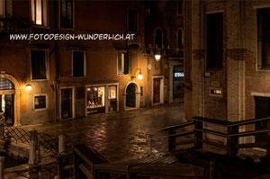 Nachts in der Innenstadt (Fotodesign-Wunderlich)