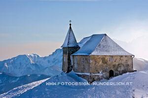 Kärnten, Dobratsch, Deutsche Kirche (Fotodesign-Wunderlich)