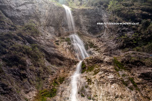 Kärnten, Wasserfall am Weißensee (Fotodesign-Wunderlich)