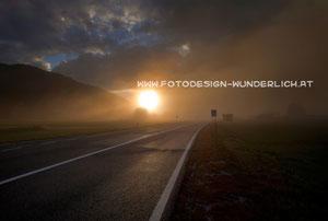 Nebel an der Grenze zu Italien (Fotodesign-Wunderlich)