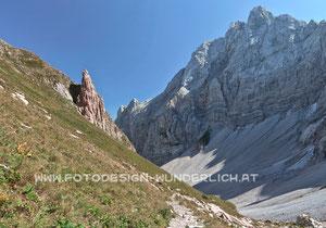 Kärnten, Karnische Alpen, Valentintörl (Fotodesign-Wunderlich)