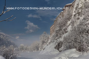 Kärnten, Arnoldstein, Klosterruine (Fotodesign-Wunderlich)