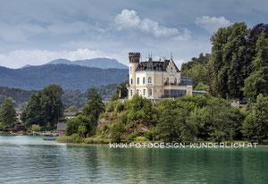 Kärnten, Wörthersee, Schloss Reifnitz (Fotodesign-Wunderlich)