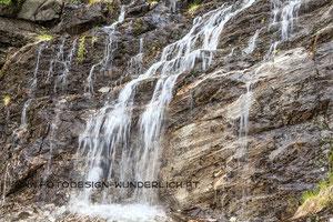 Kärnten, Wasserfall im Maltatal (Fotodesign-Wunderlich)