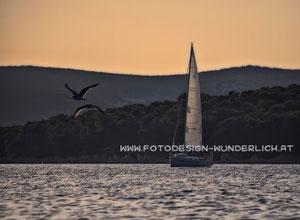 Segelboot an der Adria (Fotodesign-Wunderlich)