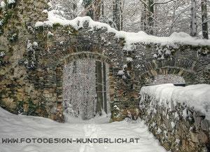 Pörtschach, Ruine Leonstein (Fotodesign-Wunderlich)