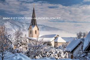 Kärnten, Arnoldstein, Kirche (Fotodesign-Wunderlich)