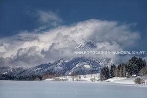 Kärnten, Dreiländereck bei Arnoldstein (Fotodesign-Wunderlich)