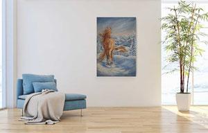 2021 Winteralpen, 40x60 cm, Öl auf Keilrahmen, 348,-