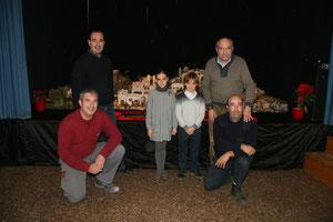El equipo de belenistas