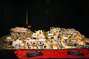 Panorámica general del Belén de 2012